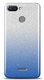 Xiaomi Redmi 6 Simli Mavi Silikon Kılıf