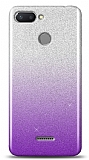 Xiaomi Redmi 6 Simli Mor Silikon Kılıf
