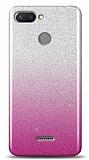 Xiaomi Redmi 6 Simli Pembe Silikon Kılıf