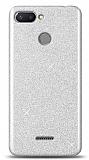Xiaomi Redmi 6 Simli Silver Silikon Kılıf
