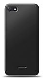 Xiaomi Redmi 6A Siyah Mat Silikon Kılıf