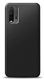 Xiaomi Redmi 9T Siyah Mat Silikon Kılıf