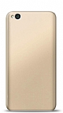 Xiaomi Redmi Go Gold Mat Silikon Kılıf