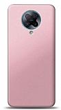 Xiaomi Redmi K30 Pro Rose Gold Mat Silikon Kılıf