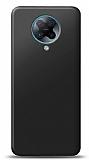 Xiaomi Redmi K30 Pro Siyah Mat Silikon Kılıf
