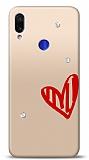 Xiaomi Redmi Note 7 3 Taş Love Kılıf