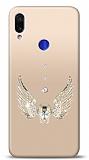 Xiaomi Redmi Note 7 Angel Death Taşlı Kılıf