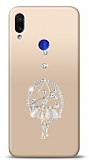 Xiaomi Redmi Note 7 Balerin Taşlı Kılıf
