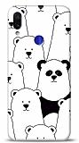 Xiaomi Redmi Note 7 Lonely Panda Resimli Kılıf