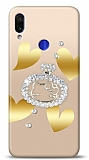 Xiaomi Redmi Note 7 Lovely Kitty Taşlı Kılıf
