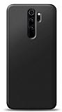 Xiaomi Redmi Note 8 Pro Siyah Mat Silikon Kılıf