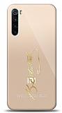 Xiaomi Redmi Note 8T Gold Atatürk İmza Kılıf