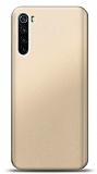 Xiaomi Redmi Note 8T Gold Mat Silikon Kılıf