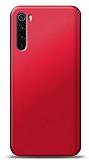 Xiaomi Redmi Note 8T Kırmızı Mat Silikon Kılıf