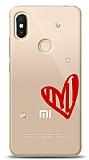 Xiaomi Redmi S2 3 Taş Love Kılıf