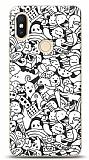 Xiaomi Redmi S2 Karikalar Resimli Kılıf