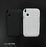 Samsung C3303 Champ Beyaz Delikli K�l�f