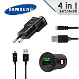 Samsung 4 Par�a Micro USB �arj Seti