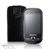 Samsung Corby Siyah Kapakl� Deri K�l�f