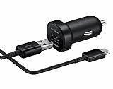 Samsung EP-LN930CBEGWW Orjinal USB Type-C Siyah Mini Araç Şarj Aleti