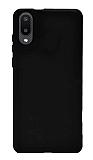 Samsung Galaxy A02 Siyah Silikon Kılıf