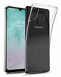 Samsung Galaxy A20e Ultra İnce Şeffaf Silikon Kılıf