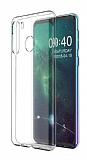 Samsung Galaxy A21 Ultra İnce Şeffaf Silikon Kılıf