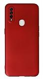 Oppo A31 Kamera Korumalı Kırmızı Silikon Kılıf