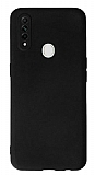 Oppo A31 Kamera Korumalı Siyah Silikon Kılıf