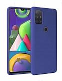 Samsung Galaxy A21s Lacivert Mat Silikon Kılıf