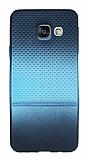 Samsung Galaxy A3 2016 Mavi Noktalı Ultra İnce Silikon Kılıf