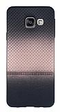 Samsung Galaxy A3 2016 Rose Gold Noktalı Ultra İnce Silikon Kılıf