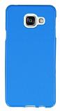 Samsung Galaxy A3 2016 Mavi Silikon Kılıf