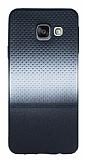 Samsung Galaxy A3 2016 Silver Noktalı Ultra İnce Silikon Kılıf