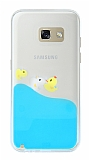 Samsung Galaxy A3 2017 Sulu Ördek Rubber Kılıf