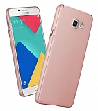 Samsung Galaxy A3 2017 Tam Kenar Koruma Rose Gold Rubber Kılıf