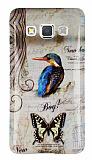 Samsung Galaxy A3 Mavi Kuş Silikon Kılıf