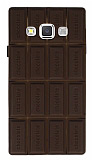 Samsung Galaxy A3 Sütlü Çikolata Kılıf