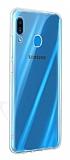 Samsung Galaxy A20 / A30 Ultra İnce Şeffaf Silikon Kılıf