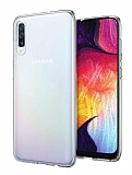 Samsung Galaxy A30S Ultra İnce Şeffaf Silikon Kılıf