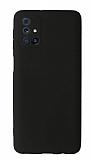 Samsung Galaxy M31s Kamera Korumalı Siyah Silikon Kılıf