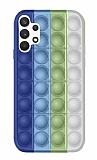 Samsung Galaxy A52 / A52 5G Push Pop Bubble Yeşil Silikon Kılıf