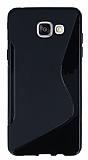 Samsung Galaxy A5 2016 Desenli Siyah Silikon Kılıf