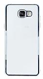 Samsung Galaxy A5 2016 Silver Kenarlı Şeffaf Rubber Kılıf