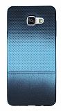 Samsung Galaxy A5 2016 Mavi Noktalı Ultra İnce Silikon Kılıf