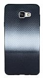 Samsung Galaxy A5 2016 Silver Noktalı Ultra İnce Silikon Kılıf