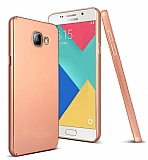 Samsung Galaxy A5 2016 Tam Kenar Koruma Rose Gold Rubber Kılıf