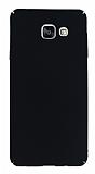 Samsung Galaxy A5 2016 Tam Kenar Koruma Siyah Rubber Kılıf