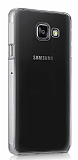 Samsung Galaxy A5 2016 Tam Koruma Şeffaf Kristal Kılıf