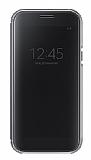 Samsung Galaxy A5 2017 Orjinal Clear View Uyku Modlu Siyah Kılıf